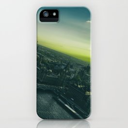 Sunset, in London iPhone Case