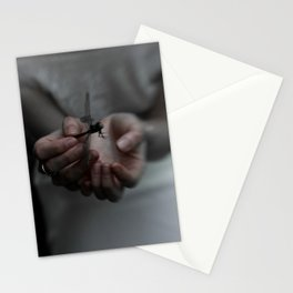 The withering of dragonfly soul Stationery Cards