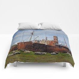 Abandoned Whaling Ships Comforters