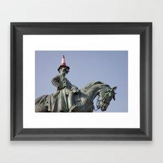 Honorable Man Framed Art Print