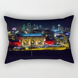 Union Station Tilt Shift Rectangular Pillow