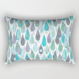 Let it Rain II Rectangular Pillow
