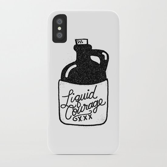 Liquid Courage iPhone Case