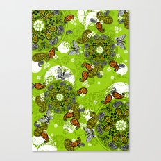 butterfly carousel Canvas Print