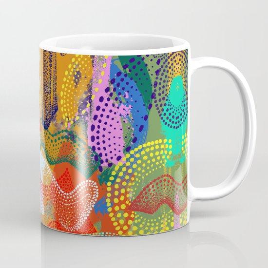 The Stipple Dots Abstract Mug