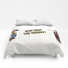 Who Shot The Sheriff? Comforters