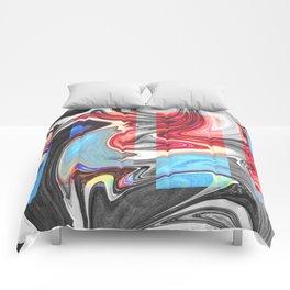 SNARL - BLACK Comforters