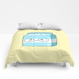 Kawaii Milk Comforters