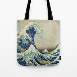 Great Wave of Kanagawa Tote Bag