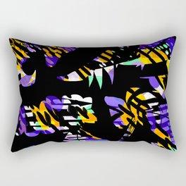 Neon Claws Rectangular Pillow
