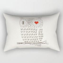 I Love Uuuuuuuu Rectangular Pillow
