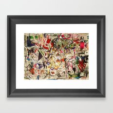 Strange Weather Framed Art Print
