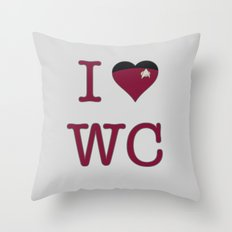 I Heart Wesley Crusher Throw Pillow