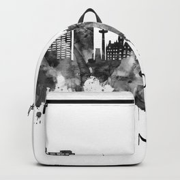 Hanover Germany Skyline BW Backpack