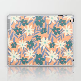 Just Peachy Floral Laptop & iPad Skin