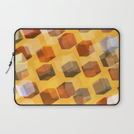 transparent cubes Laptop Sleeve