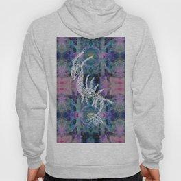 Frankie Floral Leafy Sea Dragon Hoody