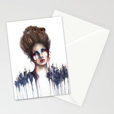 Burn // Fashion Illustration Stationery Cards