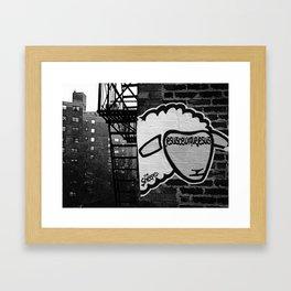 Je suis... Framed Art Print