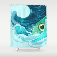 Forerunner Shower Curtain