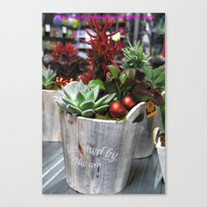 Green style. Canvas Print