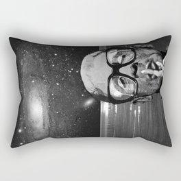 FRANKY - the Ornithology Warden - NIGHT SHIFT Rectangular Pillow