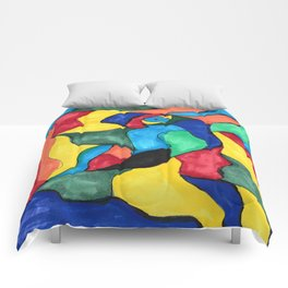 Stained Glass Eye Comforters