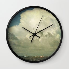 Off to Work We Go Wall Clock