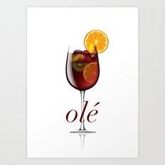 OLE Art Print