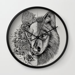 New Wolf (Half Life) Wall Clock
