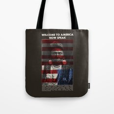 Welcome to America Tote Bag
