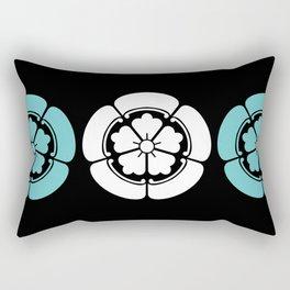 Samurai-Oda family Crest Rectangular Pillow