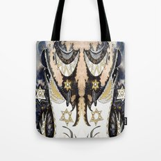 Sleepy Starbird Tote Bag