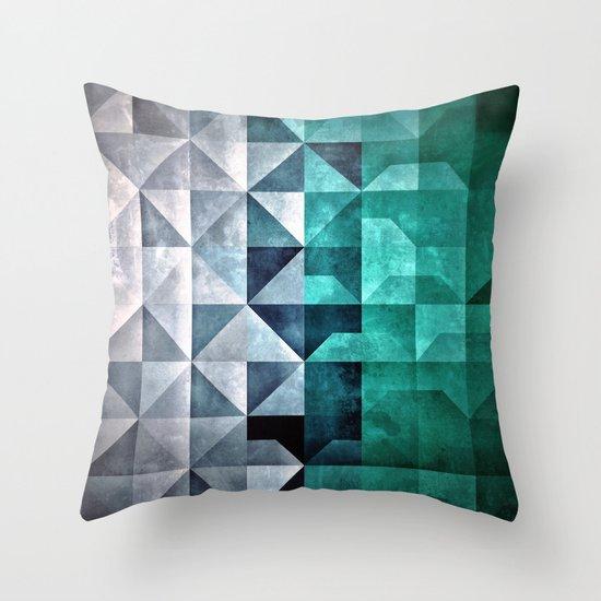 Yce Throw Pillow