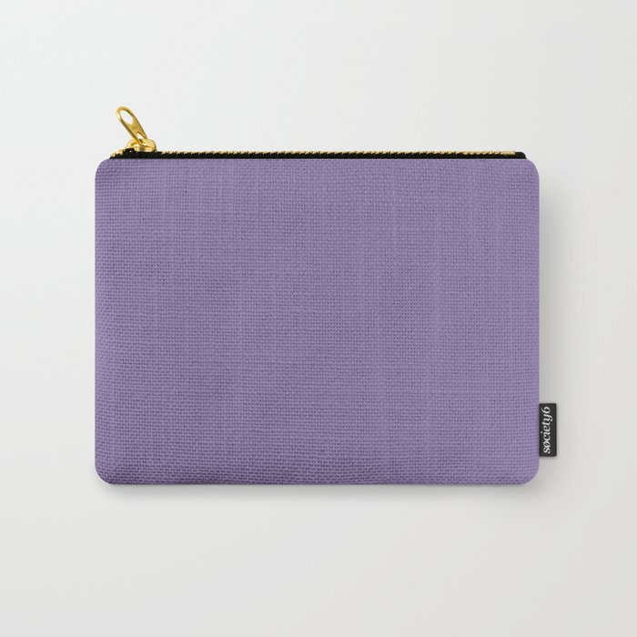 Solid Colors Series - Pale Blue Violet Carry-All Pouch