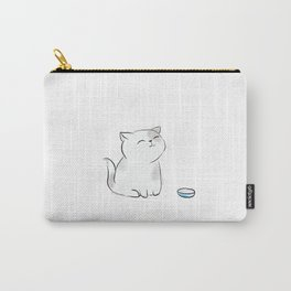 Feed me, Human. Carry-All Pouch