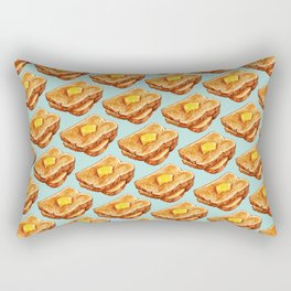 Toast Pattern Rectangular Pillow