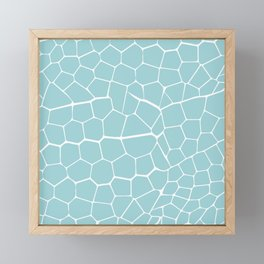 Elephant Pattern Framed Mini Art Print