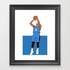 Thunder Up Framed Art Print