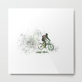 Biker Metal Print
