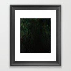 Deep Dark Framed Art Print