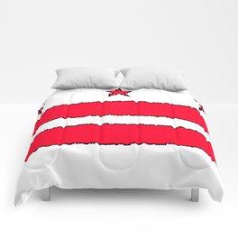 Fancy Flag: Washington, DC    District of Columbia Comforters