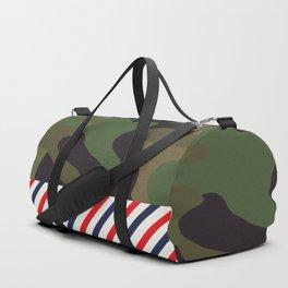 Barber Camo Pattern Duffle Bag