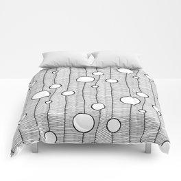 Mono circle Comforters