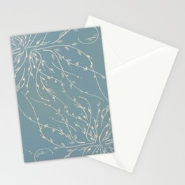 The tree is crying Stationery Cards