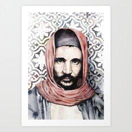 Baba Sali - Rabbi Abuhatzeira Art Print