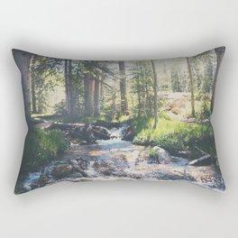 a mountain stream ... Rectangular Pillow