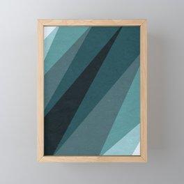 Six Shades of Sea Framed Mini Art Print