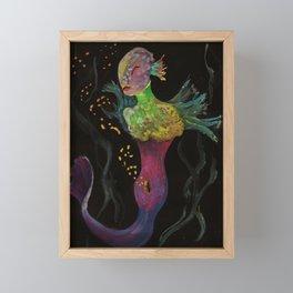 Birth of Mermaids Framed Mini Art Print