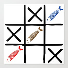 Fish Game Canvas Print